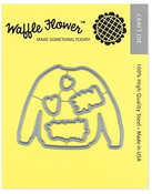 Sweater Weather Waffle Flower Die - PRE ORDER