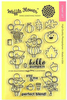 Hello Pumpkin Clear Stamps - Waffle Flower