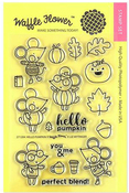 Hello Pumpkin Clear Stamps - Waffle Flower - PRE ORDER