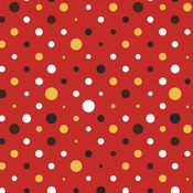 Red & Black Solids Paper - A Day At The Park - Photoplay