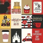 3 x 4 Cards Tiny Print Paper - A Day At The Park - Photoplay - PRE ORDER