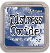 Chipped Sapphire Oxide Ink Pad - Tim Holtz