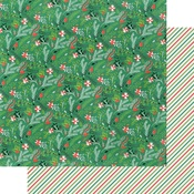 Under The Mistletoe Paper - Cottage Christmas - Fancy Pants