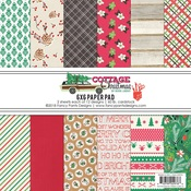 Cottage Christmas 6 x 6 Paper Pad - Fancy Pants