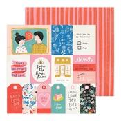 In Love Paper - La La Love - Crate Paper
