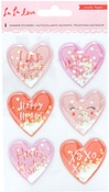 La La Love Shaker Stickers - Crate Paper
