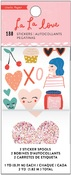 La La Love Glitter Sticker Roll - Crate Paper - PRE ORDER