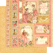 Beautiful Maiden Paper - Princess - Graphic 45