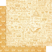 If The Crown Fits Paper - Princess - Graphic 45