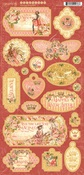 Princess Chipboard - Graphic 45 - PRE ORDER