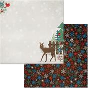 Winter Getaway Paper - Bo Bunny