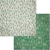 Evergreen Paper - Winter Getaway - Bo Bunny