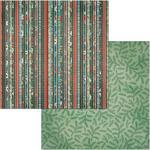 Woodland Paper - Winter Getaway - Bo Bunny