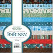 Winter Getaway 6 x 6 Paper Pad - Bo Bunny
