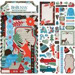 Winter Getaway Noteworthy Die-Cuts - Bo Bunny