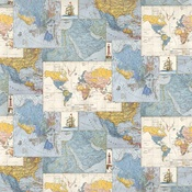 World Maps Paper - Quest - Authentique