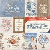 """Cut-Apart 3""""X4"""" & 4""""X6"""" Card Paper - Quest - Authentique"""