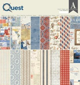 Quest 12 x 12 Paper Pad - Authentique