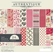 Romance 6 x 6 Paper Pad - Authentique