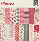 Romance 12 x 12 Paper Pad - Authentique