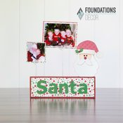 Christmas Complete Picture Holder Set - Foundations Decor