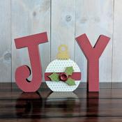 Joy With Ornament - Foundations Decor