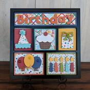 Birthday Shadow Box Kit - Foundations Decor