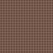Brown Plaid & Dots Paper - Foundations Decor