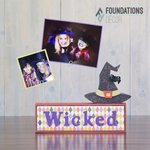 Witch Picture Holder Complete Set - Foundations Decor