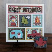 Great Outdoors Shadowbox Kit - Foundations Decor