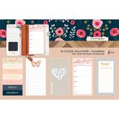 Love Planning Travel Notebook Sticker Wallpaper - Websters Pages