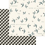 Birdie Paper - Gingham Farms - My Minds Eye