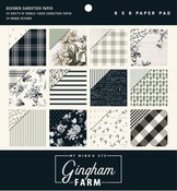 Gingham Farms 6 x 6 Paper Pad - My Minds Eye