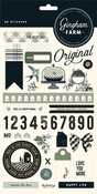 Gingham Farms Sticker Sheet - My Minds Eye - PRE ORDER