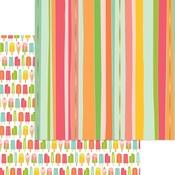 Cheery Cherry Foil Paper - Tutti Frutti - My Minds Eye