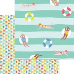 Swim Time Foil Paper - Tutti Frutti - My Minds Eye