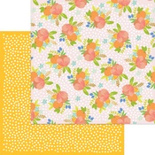 Tangerine Dreams Foil Paper - Tutti Frutti - My Minds Eye