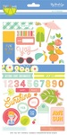 Tutti Frutti Sticker Sheet - My Minds Eye