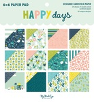 Happy Days 6 × 6 Paper Pad - My Minds Eye