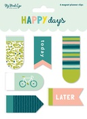 Happy Days Magnetic Clips - My Minds Eye