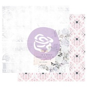 Kindness Takes Over Foiled Paper - Poetic Rose - Prima - PRE ORDER