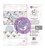 Poetic Rose 12 x 12 Paper Pad - Prima - PRE ORDER