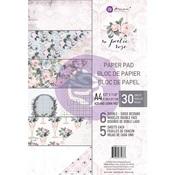Poetic Rose A4 Paper Pad - Prima - PRE ORDER