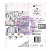 Poetic Rose 6 x 6 Paper Pad - Prima