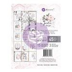 Poetic Rose 3 x 4 Journaling Cards - Prima