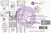 Poetic Rose 4 x 6 Journaling Cards - Prima