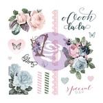 Poetic Rose Ephemera & Acetate - Prima