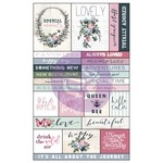 Poetic Rose Ephemera & Stickers - Prima