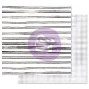 Blurred Lines Paper - Pretty Pale - Prima