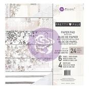 Pretty Pale 12 x 12 Paper Pad - Prima - PRE ORDER